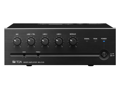 mixer amplifier from toa paging systems