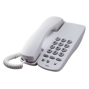nec AT-40 analog single line telephone white