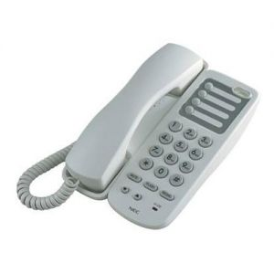 nec AT-45 Analog single-line telephone white