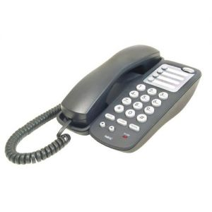 nec AT-45 analog single-line telephone black
