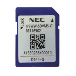 nec IP7WW-SDVML-C1 sd card 4 gigabyte for inmail storage