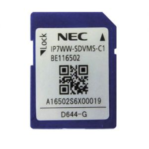 nec IP7WW-SDVMS-C1 sd card 1 gigabyte for inmail storage