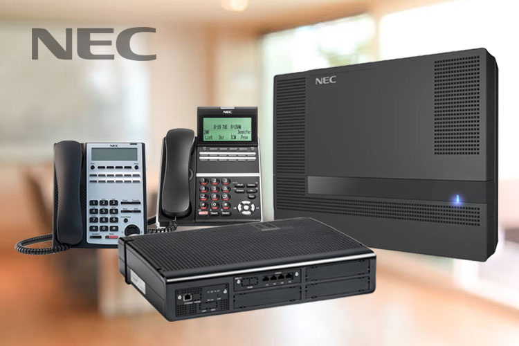 pabx telephone system from nec