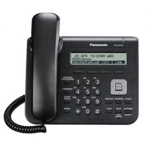 panasonic KX-UT123X-B entry model sip phone with backlight