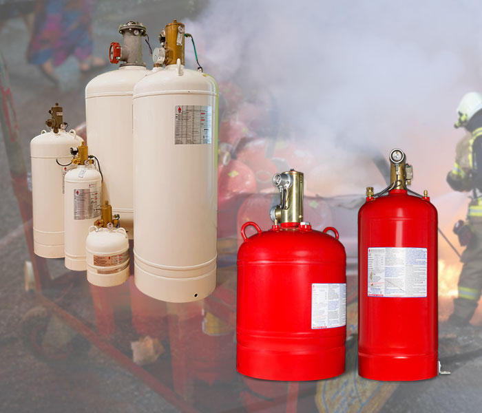 sffeco clean agent 1230 and 227 fire suppression