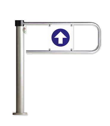 turnstile electromagnetic swing gate from perco